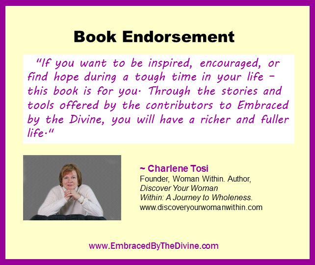 Endorsement - Charlene Tosi