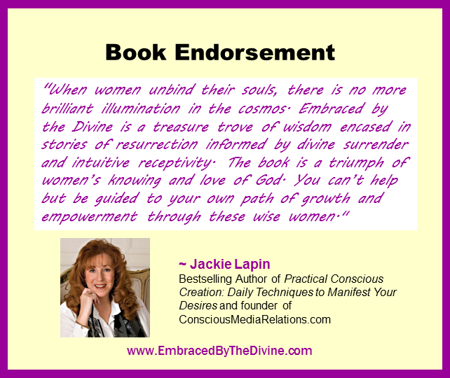 Endorsement - Jackie Lapin