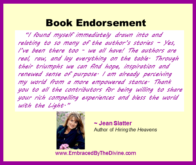 Endorsement - Jean Slatter
