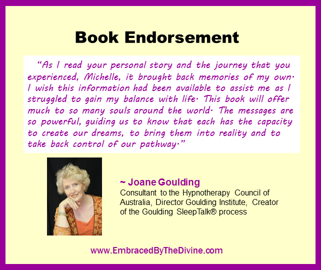 Endorsement - Joane Goulding