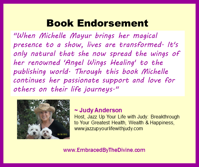 Endorsement - Judy Anderson