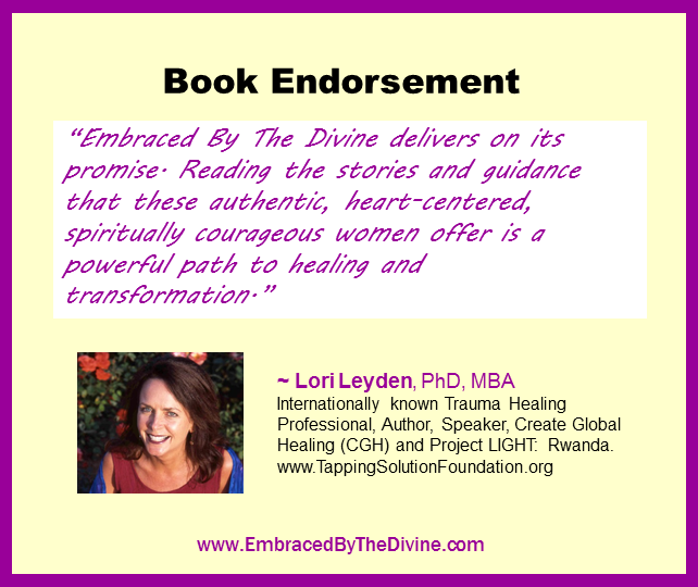 Endorsement - Lori Leyden