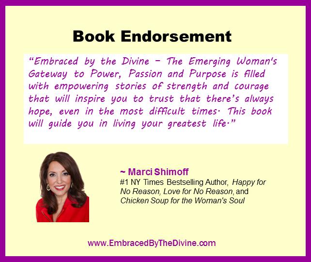 Endorsement - Marci Shimoff