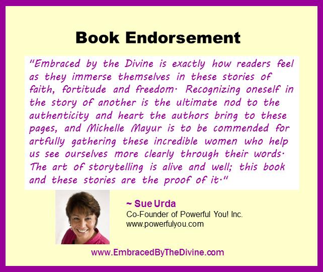 Endorsement - Sue Urda