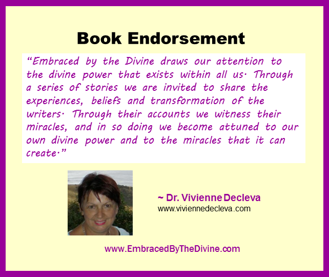 Endorsement - Vivienne Decleva