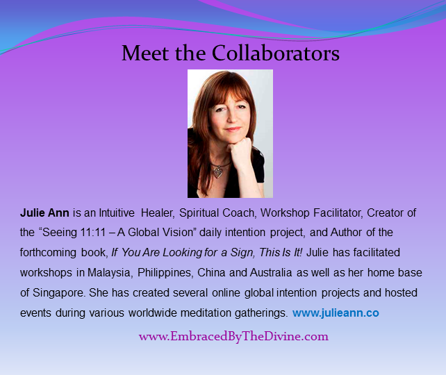 Meet the Collaborators - Julie Ann