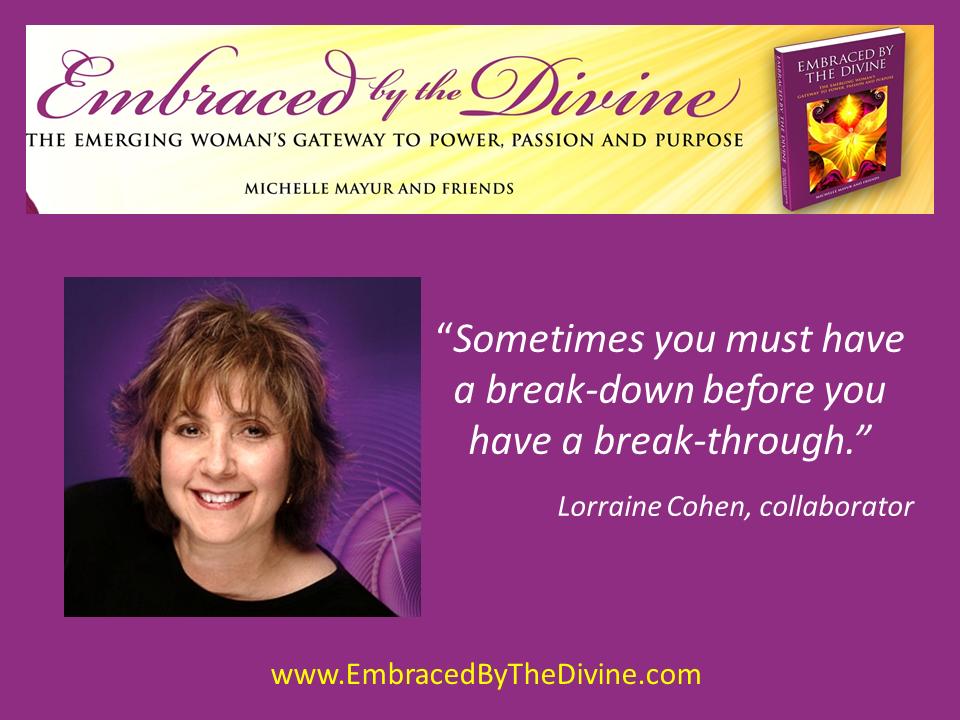 Lorraine Cohen Quote1