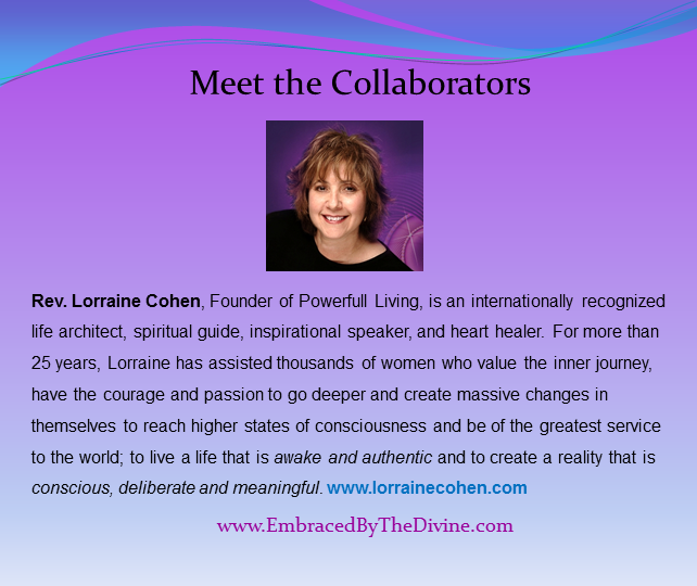 Meet the Collaborators - Lorraine Cohen