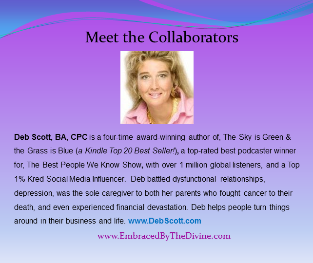 Meet the Collaborators - Deb Scott