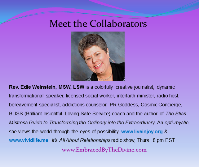 Meet the Collaborators - Edie Weinstein