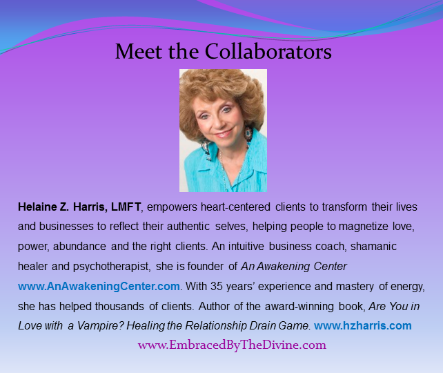 Meet the Collaborators - Helaine Harris